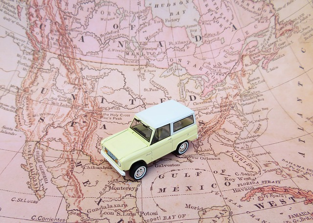 Podróż samochodem do obcego kraju